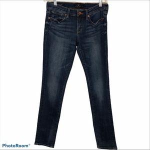 Lucky Brand medium wash skinny jeans
